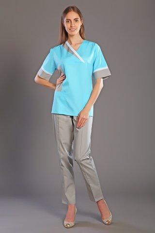 Костюм медицинский жен. М-165 ткань Тиси