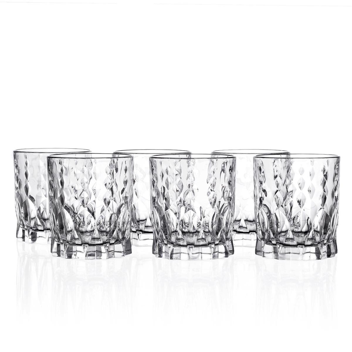 Фото - Набор стаканов для виски RCR Marilyn 340 мл (6 шт) набор стаканов для виски pure 389 мл