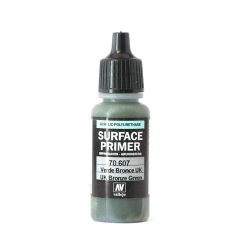 Грунты Surface Primer акриловый полиуретановый грунт, UK Бронзово-зеленый (UK Bronze Green), 17 мл 70607.jpg