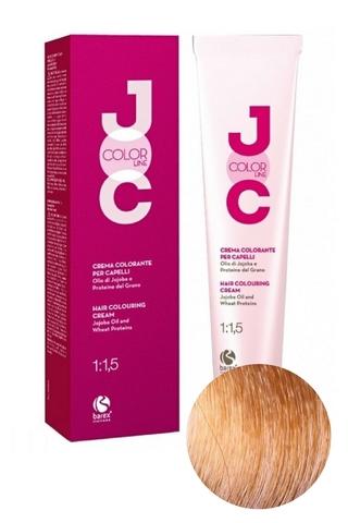 Крем-краска для волос 9.01 светлый блондин натуральный пепельный JOC COLOR, Barex
