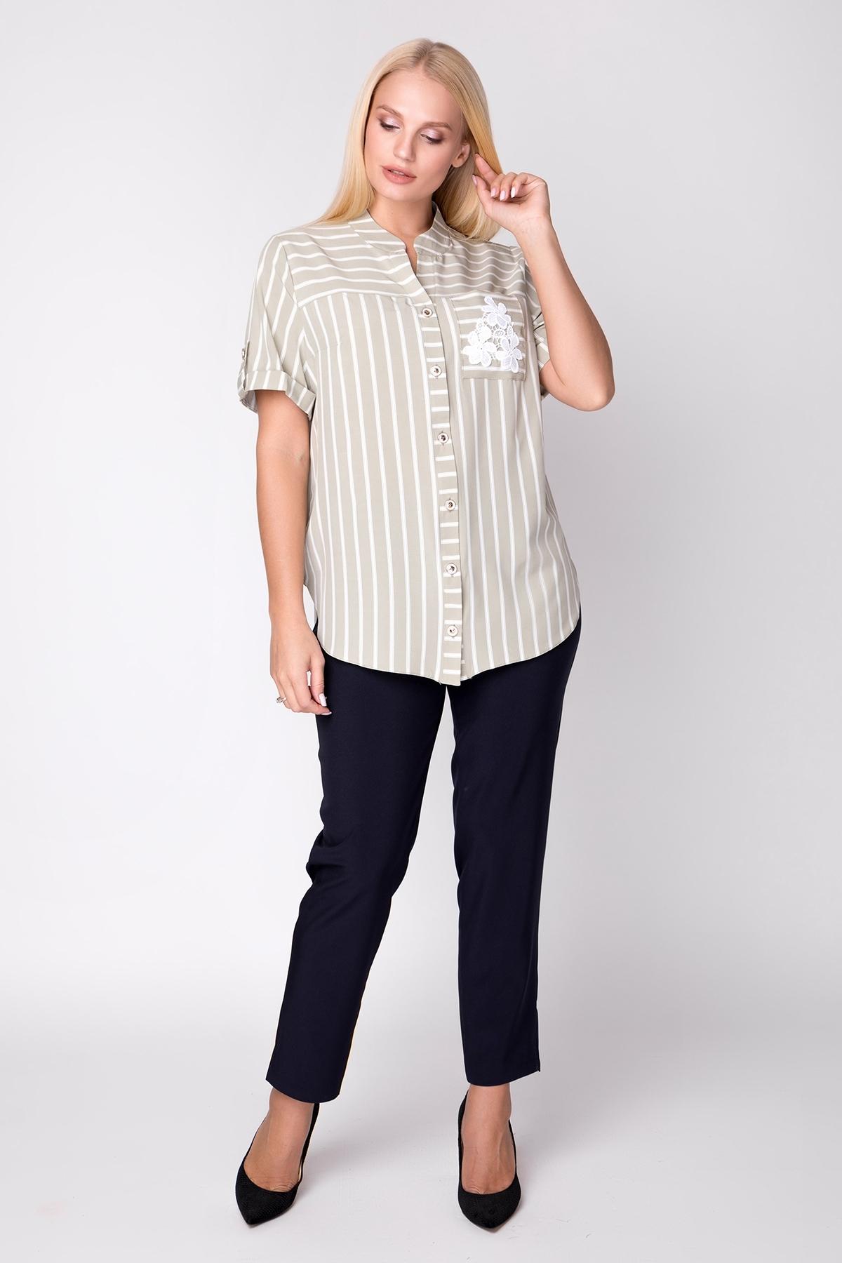 Рубашка Майя (оливковый)