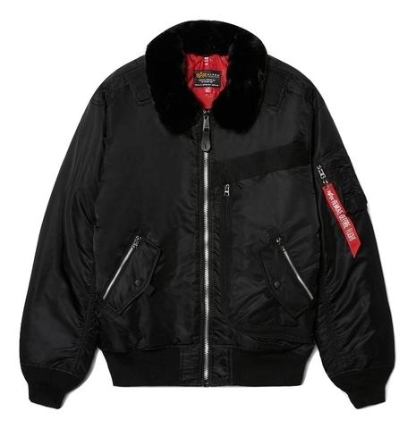 Куртка Alpha Industries Injector MOD Flight Jacket черная