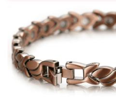 Женский медный магнитный браслет