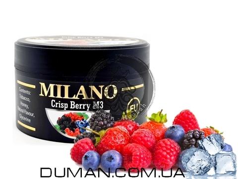 Табак Milano M3 Crisp-Berry (Милано Лед Ягоды)