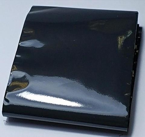 Фольга матовая (черный) 1м х 4см 07230112