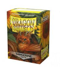 "Dragon Shield - Матовые протекторы ""Tangerine"" (100 штук)"