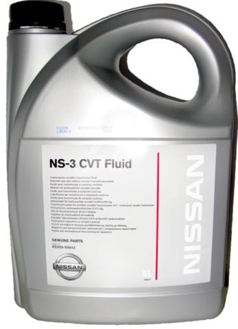 NISSAN NS-3 CVT Жидкость трансмиссионная АКПП вариаторного типа (пластик/ЕС)