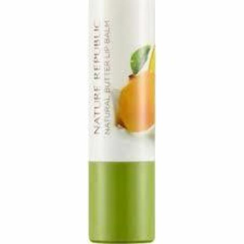 NATURE REPUBLIC Бальзам для губ Natural Butter Lipbalm (04 MANGO) 4гр