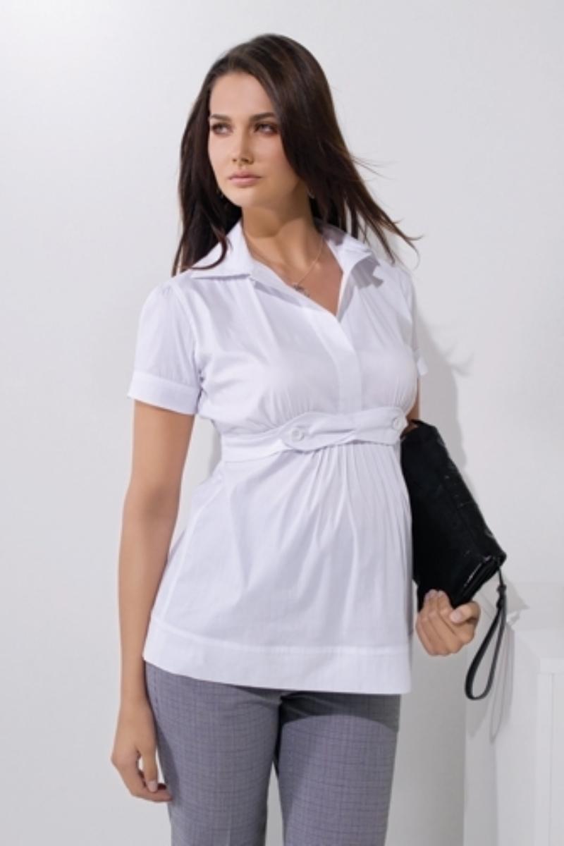 Блузка для беременных 01431 белый