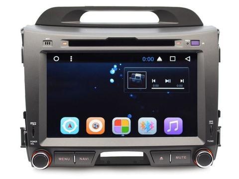 Магнитола  GF-8201A  Kia Sportage 2010-2015 Android 8.1