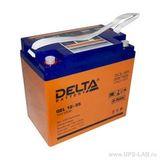 Аккумулятор Delta GEL 12-55  ( 12V 55Ah / 12В 55Ач ) - фотография