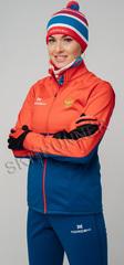 Женская утепленная лыжная куртка Nordski Premium Patriot