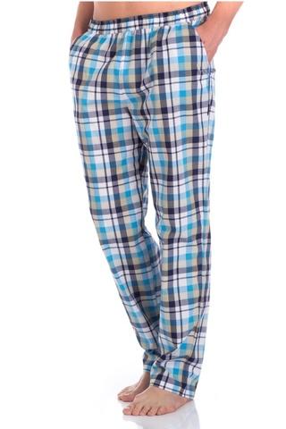 Мужские домашние брюки VIKING №002 голубые 2136/6 PECHE MONNAIE Франция