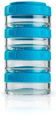 BlenderBottle GoStak 4 Контейнера по 40мл для перекусов и добавок из безопасного пищевого пластика Тритан