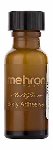 MEHRON Клей для тела на водной основе AdGem, 15 мл