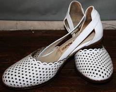 Летние туфли женские Evromoda 101-6 White.