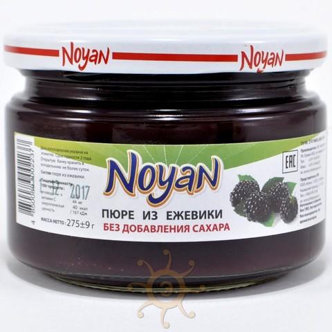 Пюре из ежевики без сахара Noyan, 270г