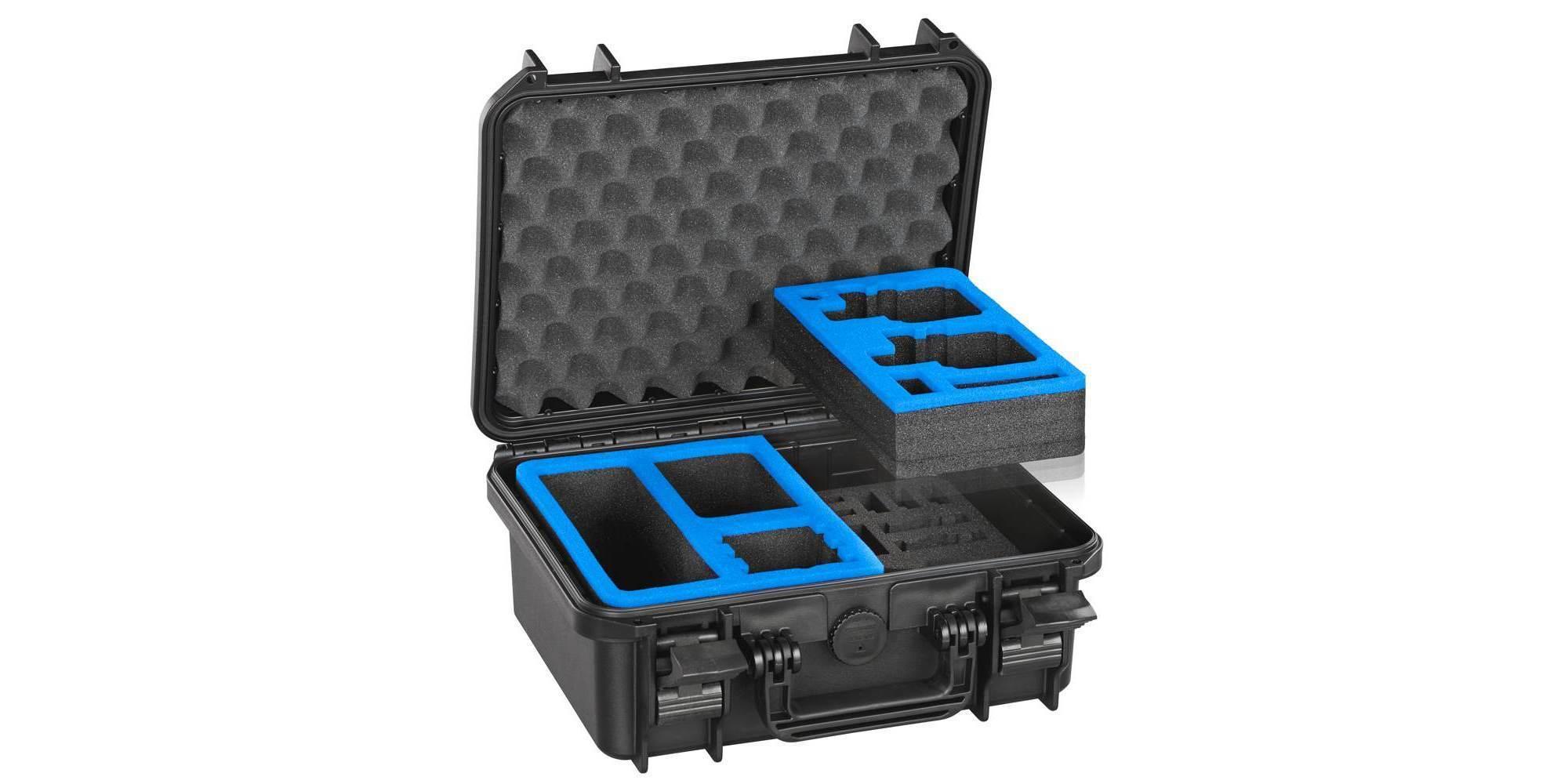 Кейс ударопрочный VG M0300 для экшн-камер открытый