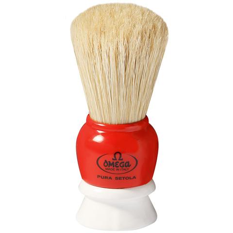 Помазок для бритья Omega натуральный кабан 10075