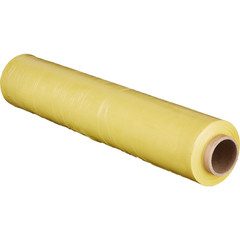 Стрейч-пленка для ручной упаковки вес 2 кг 20 мкм x 217 м x 50 см желтая (престрейч 180%)