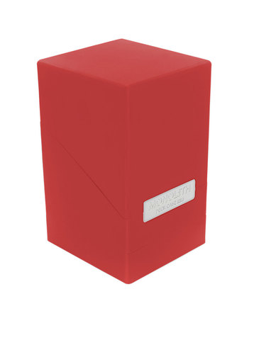 Monolith Deck Case 100+ Standard Size Red