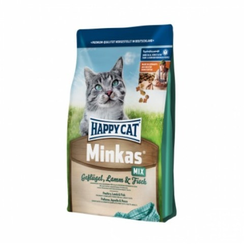 HAPPY CAT ADULT MINKAS MIX 10 кг
