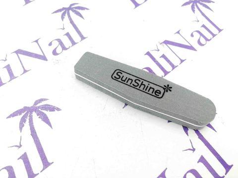 Пилка-баф малая SunShine 100/180 серый, ромб