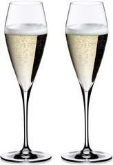 Набор из 2-х бокалов для шампанского Riedel Champagne Glass, Vitis, 320 мл, фото 4