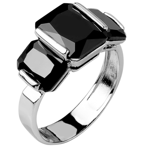 Кольцо из серебра с нано шпинелью Арт.1099н-шп
