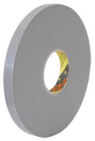 Скотч двусторонний 3М 4957F, светло-серый, вспененный, акрилатный, толщина - 1,6 мм