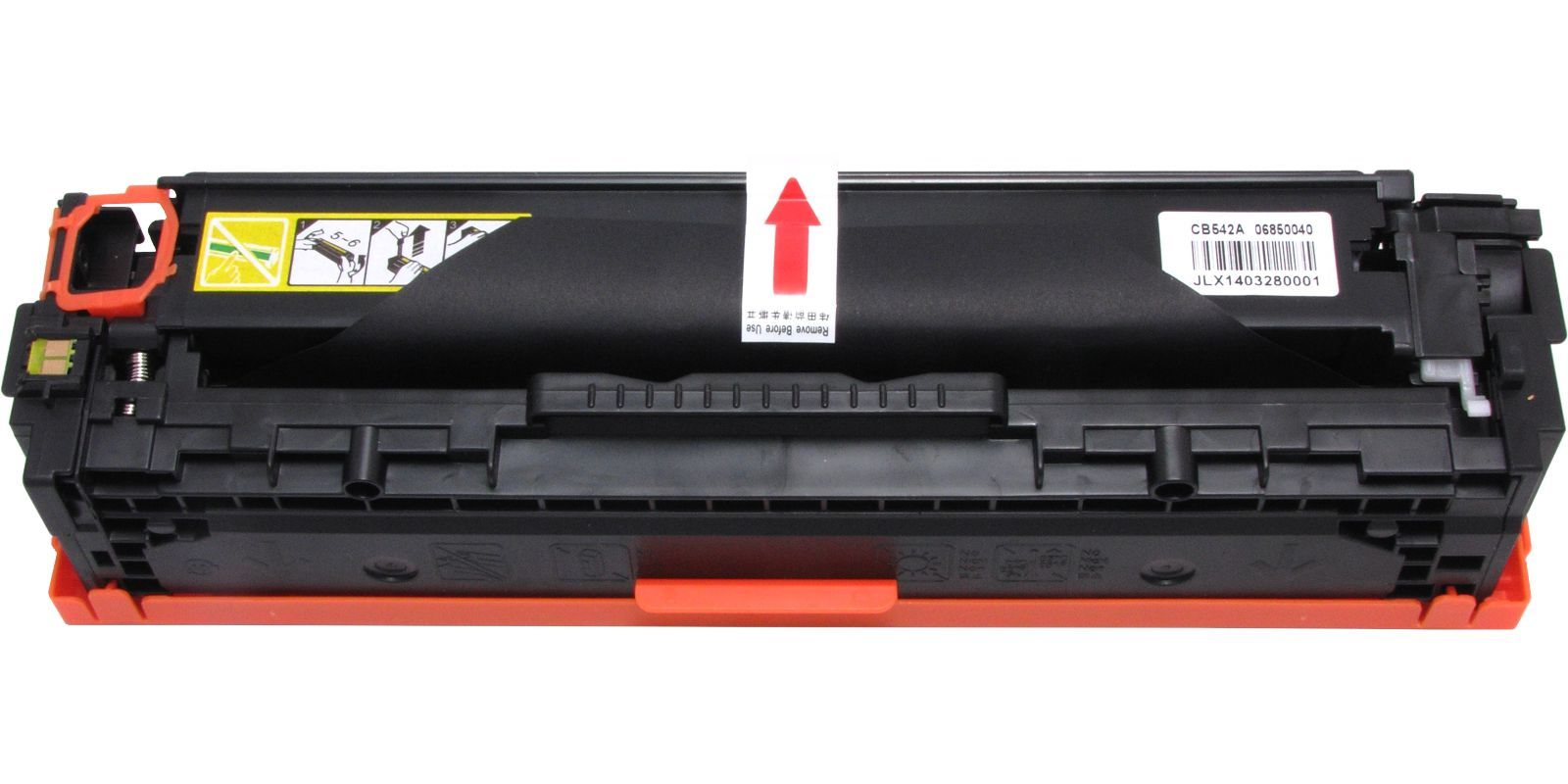 MAK №125A CB542A/Cartridge 316, 716, 416, 116 желтый (yellow), для HP/Canon, до 1400 стр.