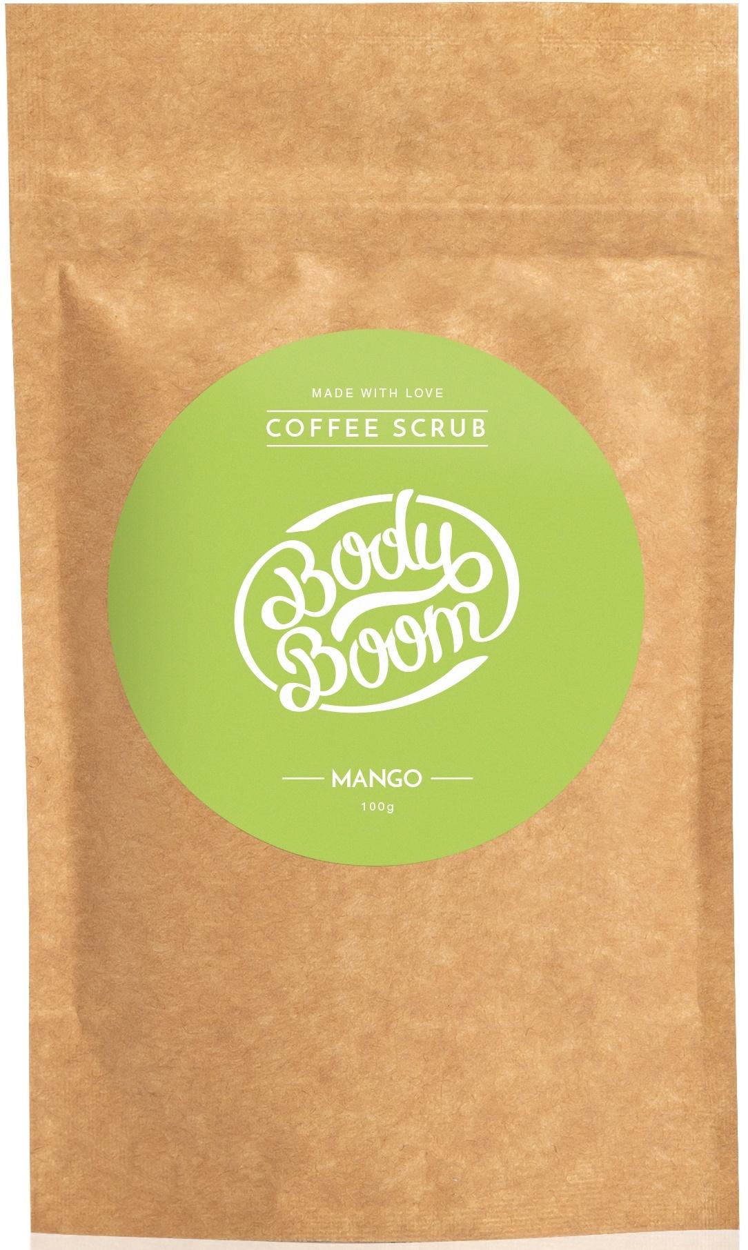 BODY BOOM Кофейный скраб для тела Mango 100г