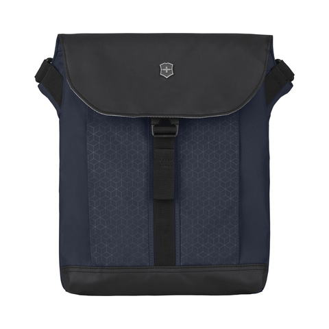 Сумка Victorinox Altmont Original Flapover Digital Bag, синяя, 26x10x30 см, 7 л