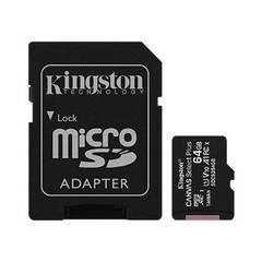 Карта памяти Kingston Canvas Select Plus microSD