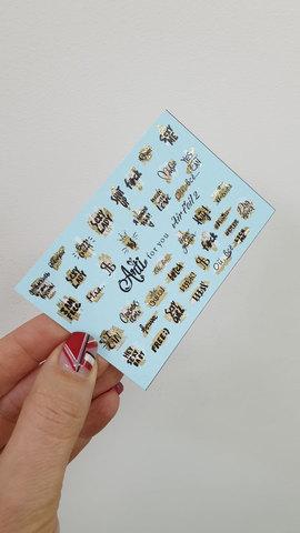 Слайдер Air Foil 002 золото