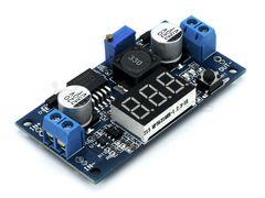 Регулятор напряжения LM2577 с цифровым индикатором