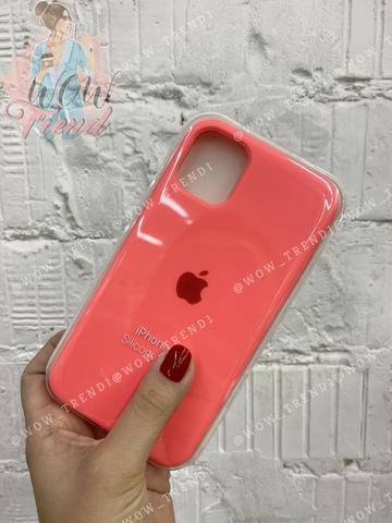 Чехол iPhone 11 Pro Silicone Case /coral/ коралл 1:1