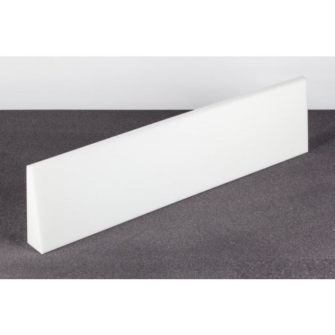 Подвесной элемент ECHOTON Trapezia FIREPROOF 100x25cm   из материала  меламин  BASOTECT белый