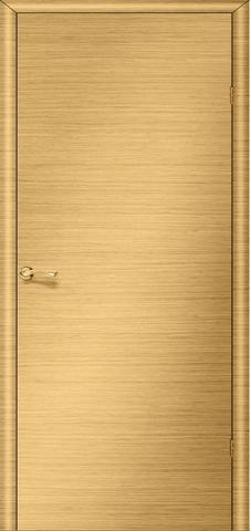 Дверь Ника 2 ПГ (светлый дуб, глухая шпонированная), фабрика LiGa