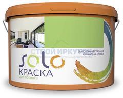 Краска SOLO для потолка акриловая, 14 кг