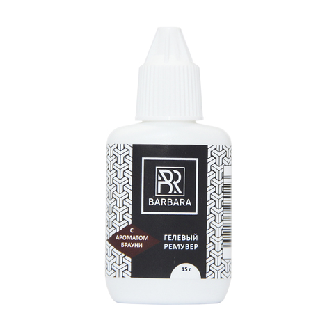 Гелевый ремувер BARBARA с ароматом брауни