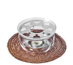 Подставка-нагреватель Тама, стеклянная, 12.5 см