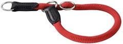 Ошейник-удавка для собак Hunter Freestyle 35/8, круглый, нейлон, красный