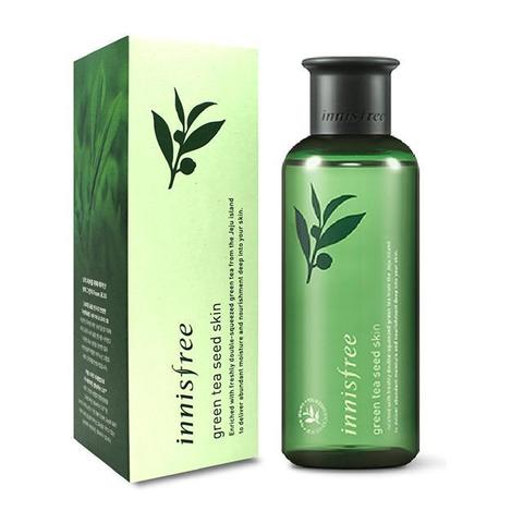 Антиоксидантный тонер для лица Green Tea Seed Skin Innisfree