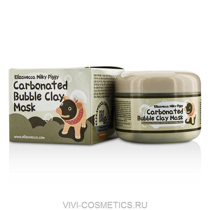 Кислородно-глиняная маска   ELIZAVECCA  Milky Piggy (100ml)