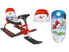 Снегокат Comfort Снеговик