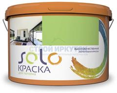 Краска SOLO для потолка акриловая, 3 кг