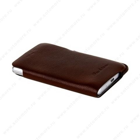 Чехол-пенал кармашек Fashion для Samsung i9100 Galaxy S2 кармашек коричневый