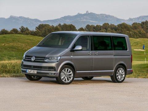 Чехлы на Volkswagen T6 микроавтобус Multivan / Caravelle / Transporter 2015–2019 г.в.