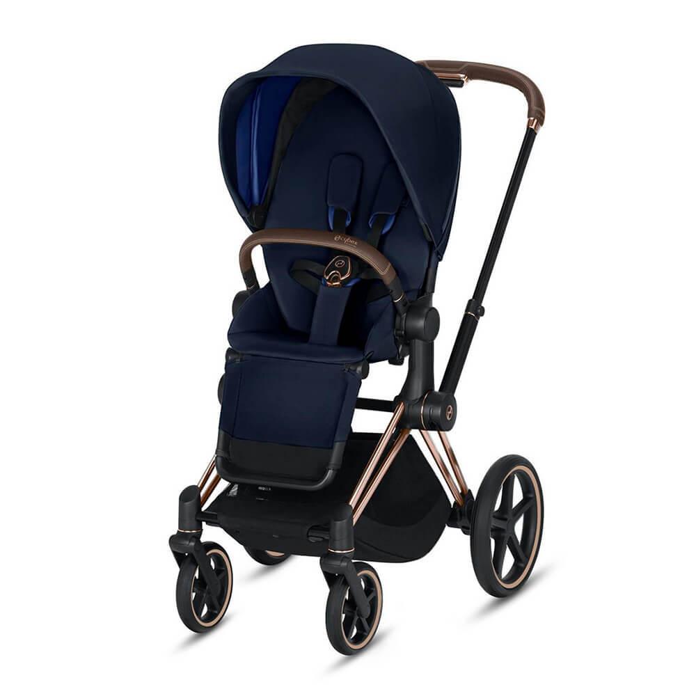 Цвета Cybex Priam прогулочная Прогулочная коляска Cybex Priam III Indigo Blue шасси Rosegold cybex-priam-iii-indigo-blue-rosegold.jpg
